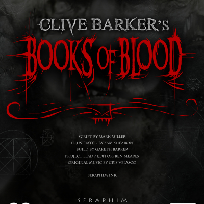 Books of Blood Advert October 2014